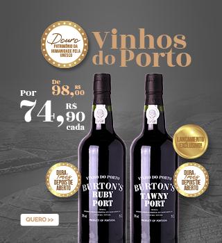 Vinhos do Porto Ruby e Tawny